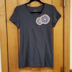 Old Navy Embellished Beaded T-Shirt Size Medium